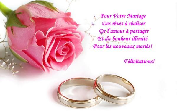 toutes nos flicitations aux parents des deux tourtereaux et nos meilleurs vux de bonheur aux futurs maris - Texte Pour Flicitation Mariage
